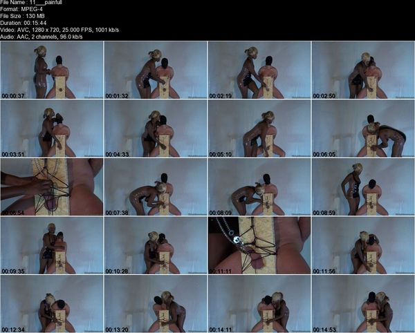 Kinkymistresses - Mistress Ava Black - Painful CBT HD
