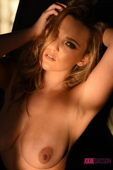 Jodie Gasson – Black Dress and Lingerie – 10/29/16 – FullHD 1080p