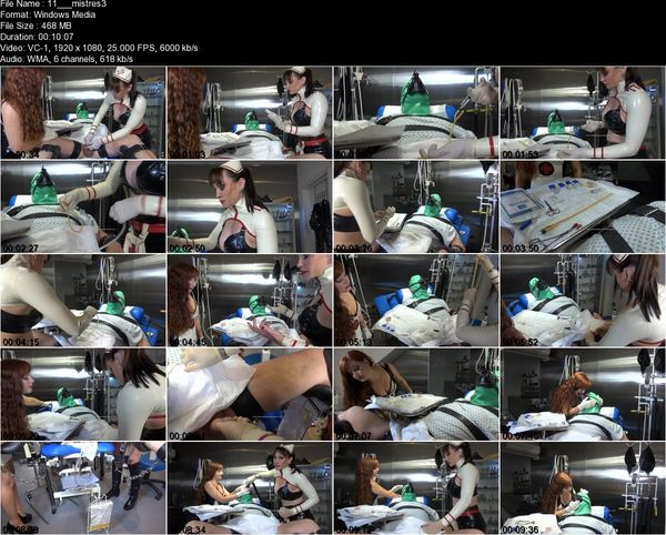 Thebondagemistressclub - Mistress Miranda - Sounds of the Clinic 2/3