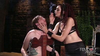 Femdom Empire - Sablique Von Lux - Smokers Delight