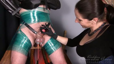 Goddess Alexandra Snow - Shocked and Tortured