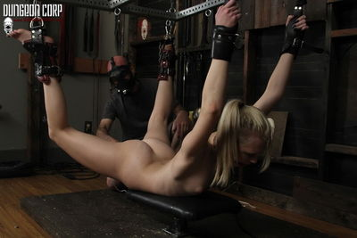 Dungeon Corp – Blonde and Submissive – Lily Rader