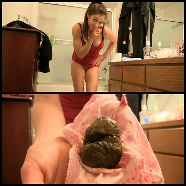 Dirty little secret-blowjob blackmail – Solo Scat, Poopping