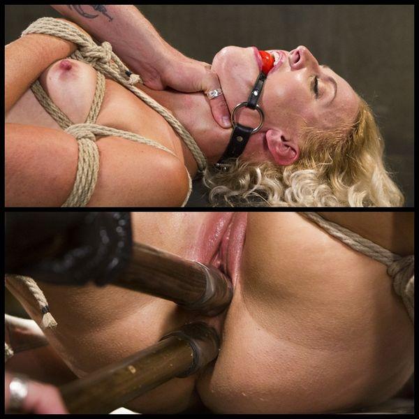 (08.09.2014) અન-કટ, ઘાતકી બંધન અને સ્ક્વીટીંગ orgasms સાથે નોનસ્ટોપ એક્શન