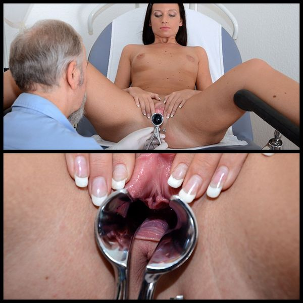 (10.11.2014) Gyno Exam Natalie Black