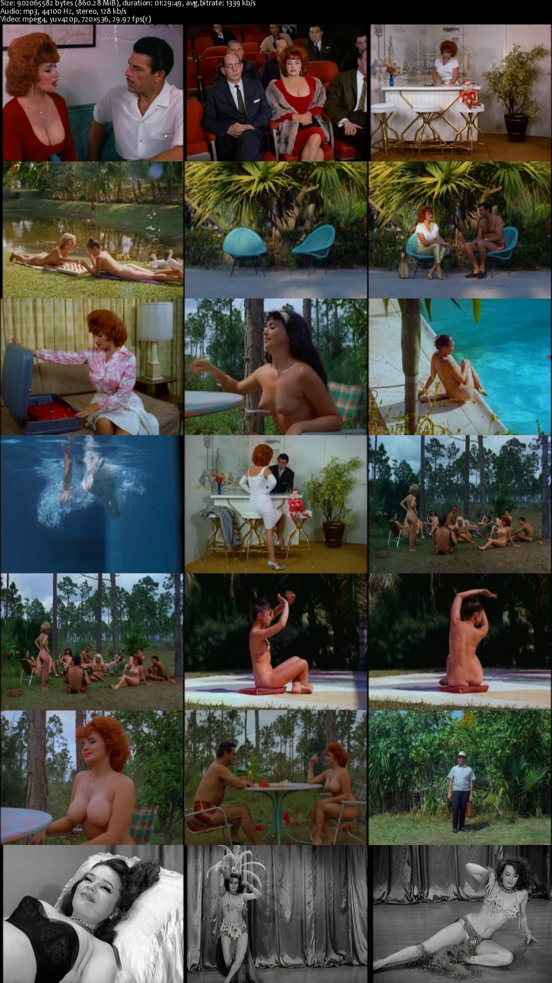 blaze starr goes nudist 1962
