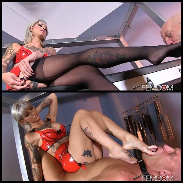 (12.01.2015) Foot Boys Are Her Toys –  Female Domination, Foot Fetish