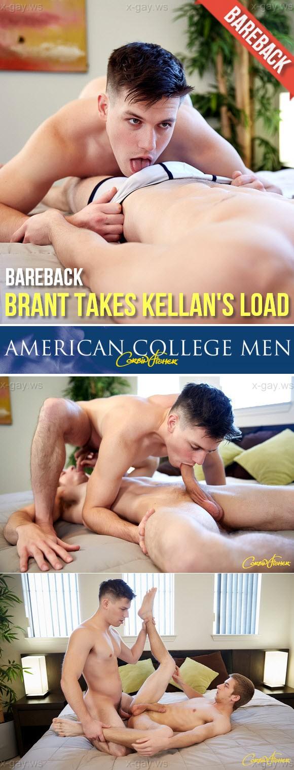 CorbinFisher – Brant Takes Kellan's Load, Bareback