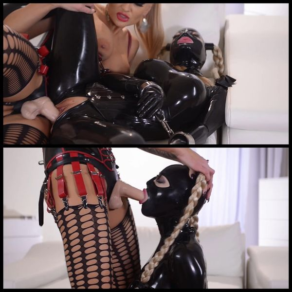 (31.01.2015) Kayla Green And Latex Lucy – Latex, Lezdom