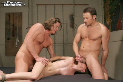 Fucking Dungeon - Bound for Two Cock - Hailey Young