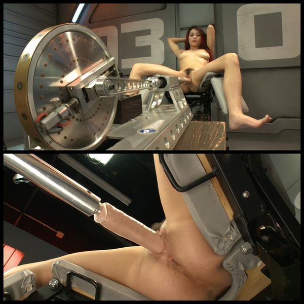 (05.02.2015) Raven Rockette Pounded by Dongs on Custom FuckingMachines – BDSM, Kinky Porn