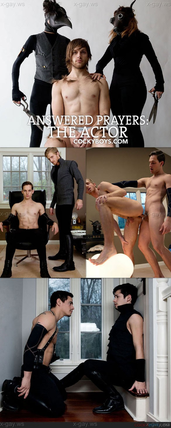 CockyBoys – Answered Prayers: The Actor