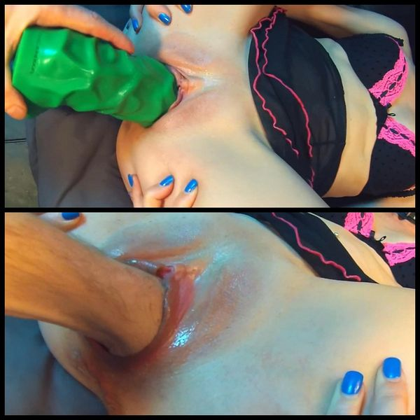 Gape Girl Vs Hulk – Fisting, Huge Toys