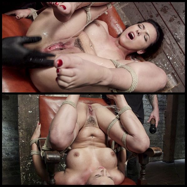 (12.03.2015) Tied, Tormented, and Squirting – BDSM, Bondage