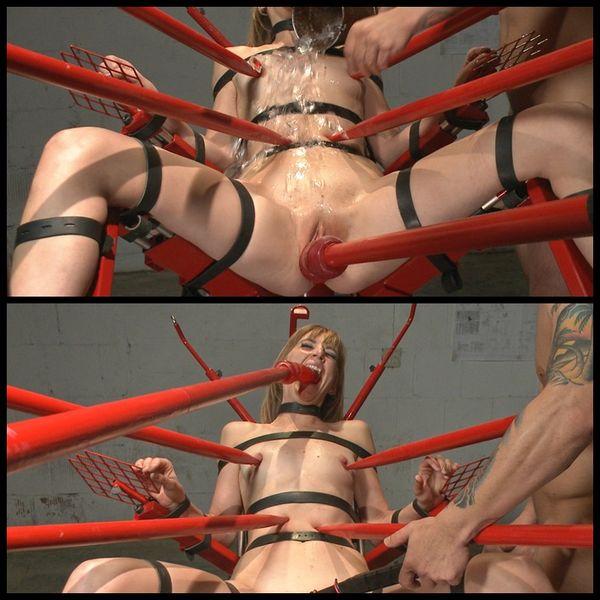 (13.03.2015)肛門の娼婦モナ・ウェールズは、オーガズム治療に提出する -  BDSM、ボンデージ