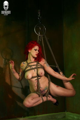 Dungeon Corp - Soma Bound and Suspended - Pope's Ropes Soma Snakeoil