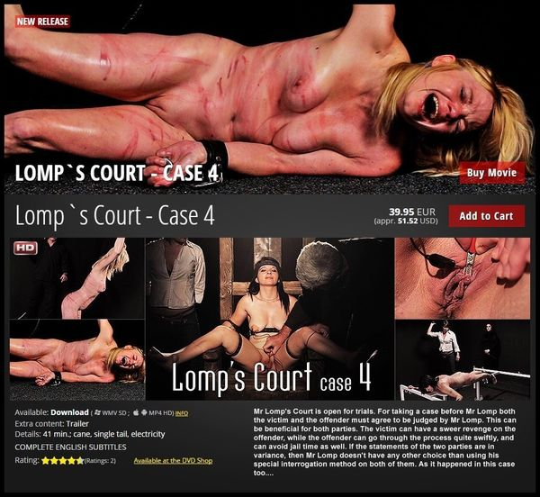 Lomp's Court Case 4 – BDSM, Fetish, Spanking