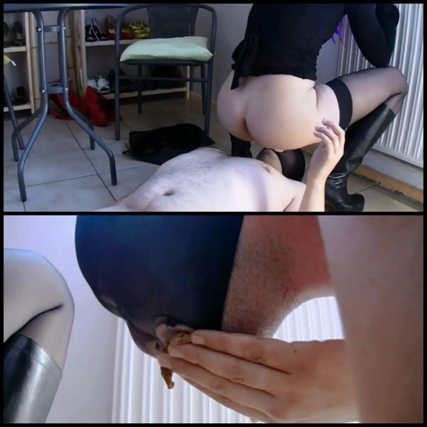 Lisa messyslave part1, Lady devil notorischer wichser scat part2, Sandy use a human toilet