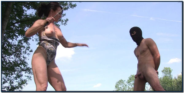Whipped Kicked And Slaped In The Face Femdom