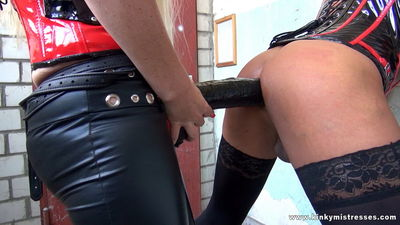Kinky Mistresses - Lady Kacy Kisha My Private Strap-on Slave