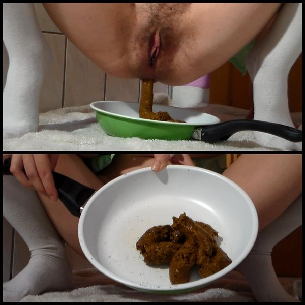 HUGE TURD TEEN 2 – Solo Scat, Poopping