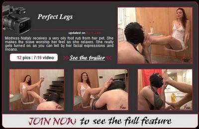 Femdom Insider - Perfect Legs Mistress Nataly