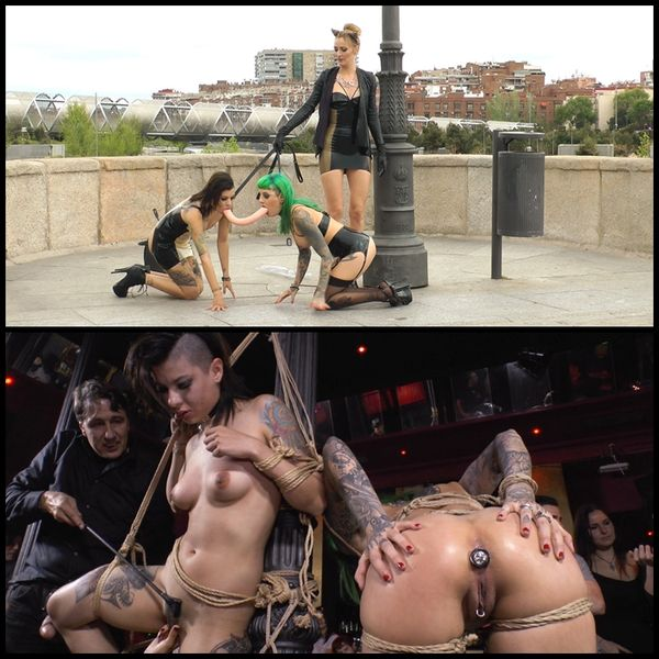 (22.05.2015) Extreme Public Orgy – The Sluttiest Whore Holes in Spain are Disgraced