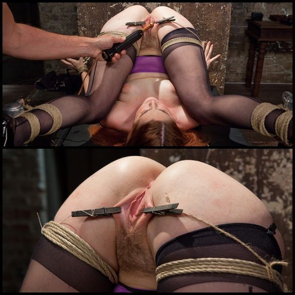 (29.05.2015) Smart Ass Masochist's Pussy Begs for Pain and Discipline