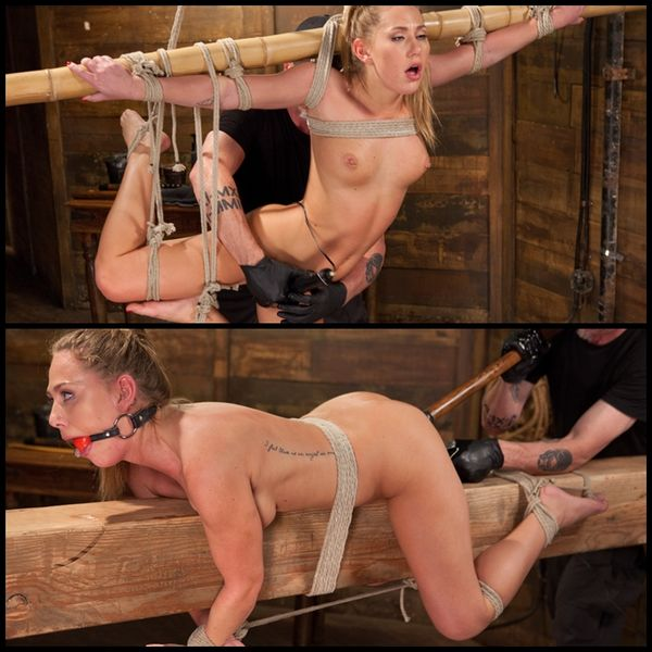 (18.06.2015) Carter Cruise Suffers in Tight Bondage