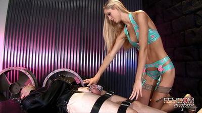 Femdom Empire - Punishment for Cock Brooke Logan