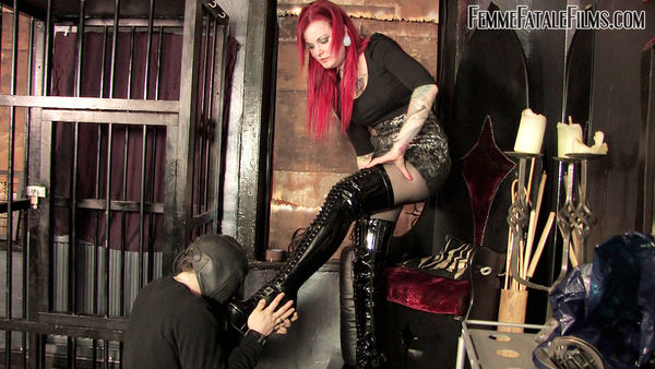 Shiny Boot Slave