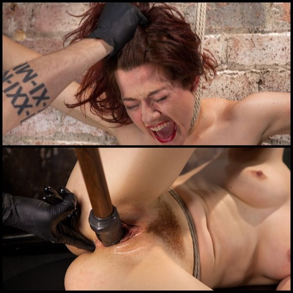 (27.08.2015) Ingrid Mouth is Brutal Bondage, Tormented and Fucked in Her Pussy and Ass