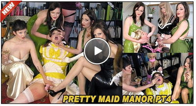 Pretty Maid Manor Pt4 Goddess Miss Kelly, Governess Ely, Miss Vivienne lAmour, Mistress Evilyne, Mistress Sidonia