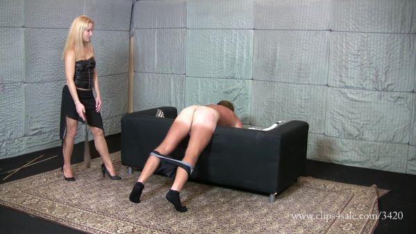 ElegantFemdom - Lady Ann - cruel hard belting