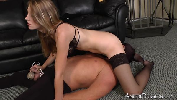 AmberDungeon - Mistress Riley - Caged - Part 2 of 3
