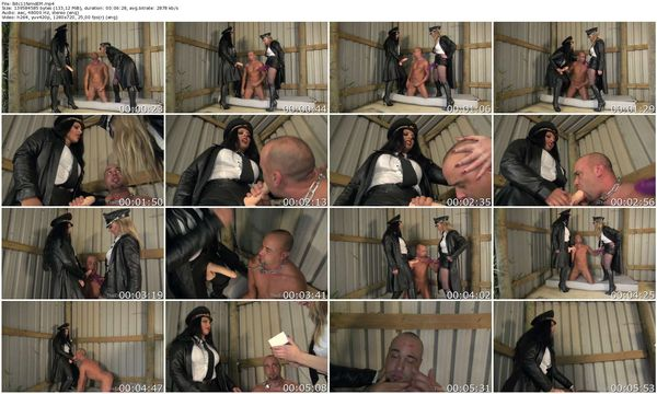 TheEnglishMansion - Mistress Ezada Sinn, Mistress Sidonia - Bitch Fucked part 1-3 update