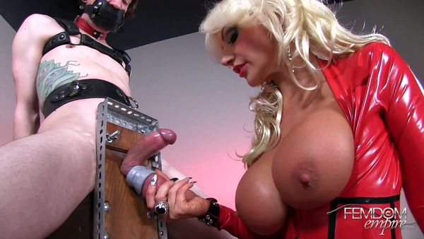 FemdomEmpire - Brittany Andrews - Slave Ball Drainer