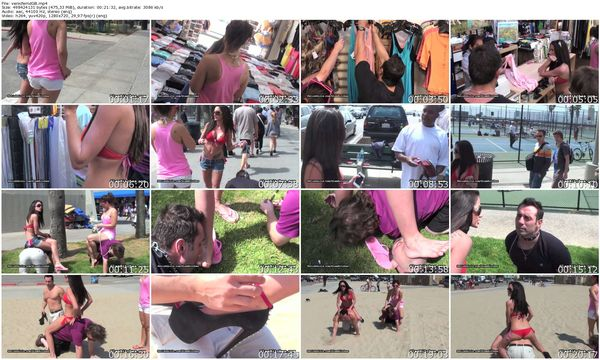 GlamBitches - Domina and her slave visit Venice