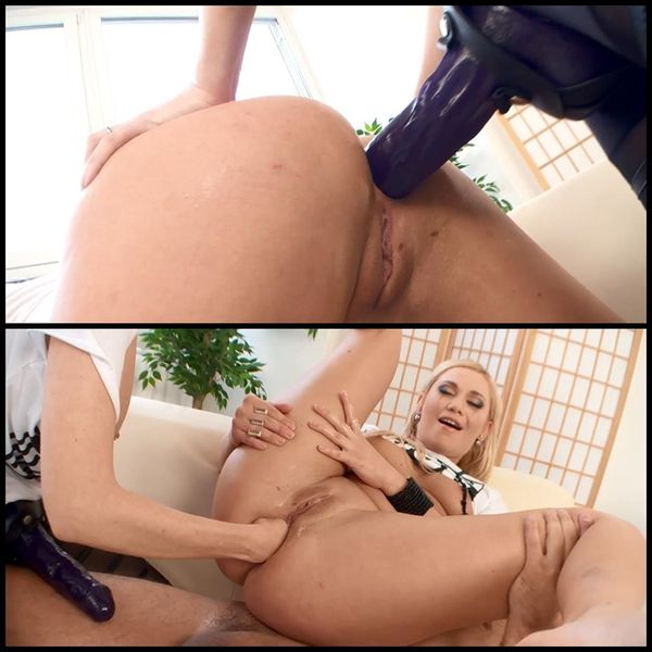 Lets DAP. Lindsey Olsen is back and banged by 2 monsters Cocks at the same time