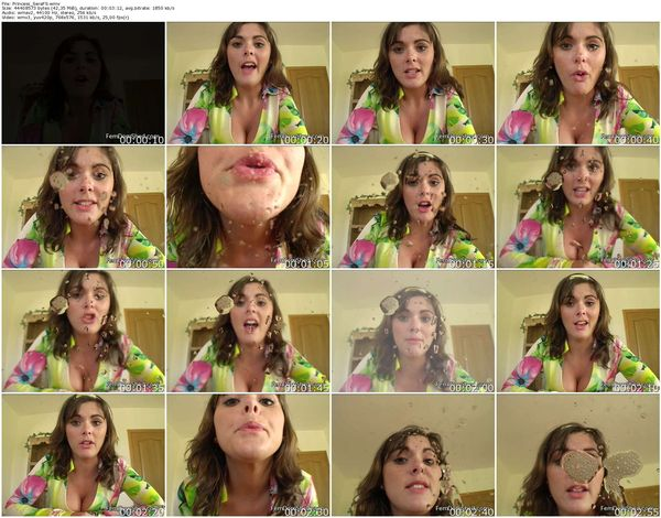 FemdomShed - Princess Sera - WORSHIP MY SPIT YOU SILLY LITTLE FAG