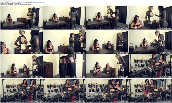 TheEnglishMansion - Miss Velour, Mistress Dometria and SubSophieDoll - Dolly Debutante part 1-2 update