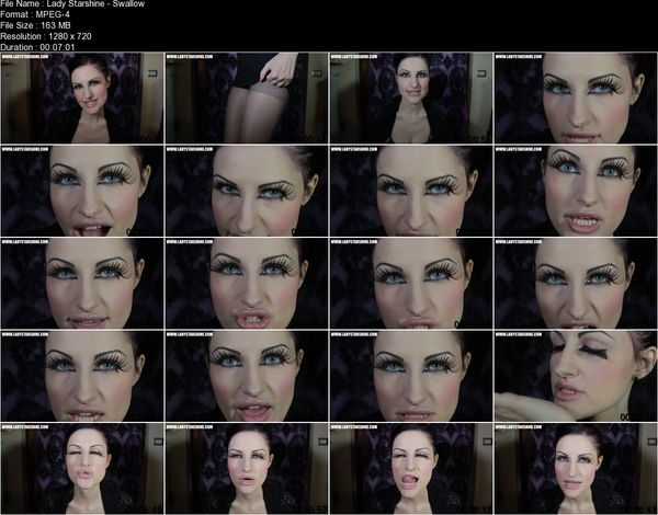 Lady Starshine - Swallow 4 Your Goddess