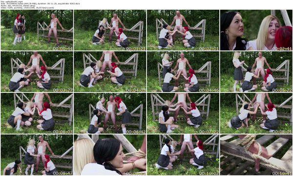 PureCFNM - Carmel Cox, Jasmine James, Jessica Jensen - Selfish Pig