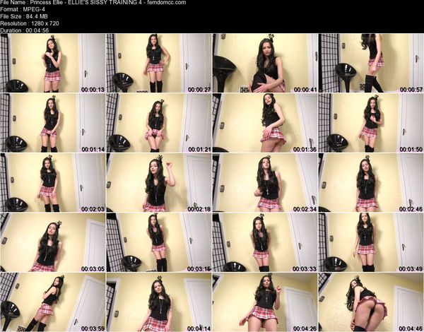 Princess Ellie - ELLIE'S SISSY TRAINING 4