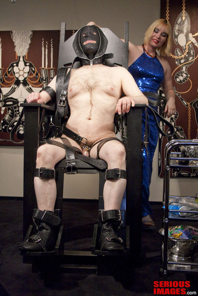 SeriousBondage - ULTIMATE Bondage Chair Part 1 - Into The Chair