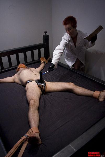 SeriousBondage - Nurse Alice Part 1 - Masturbation Therapy