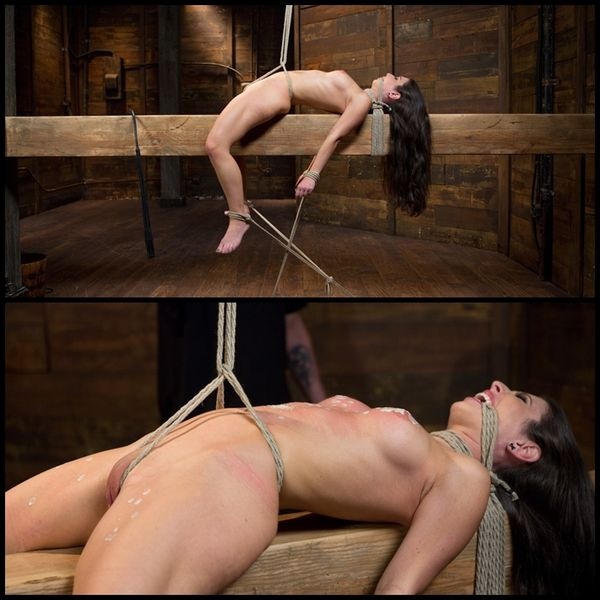 (03.12.2015) Sexy Serena Suffers in Extreme Bondage