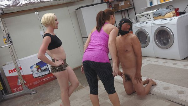 MenAreSlave - Lady Edyn, Princess Miley - Go Do The Laundry