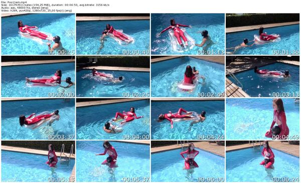 TheEnglishMansion - Miss Vivienne lAmour - Pool Ride part 1