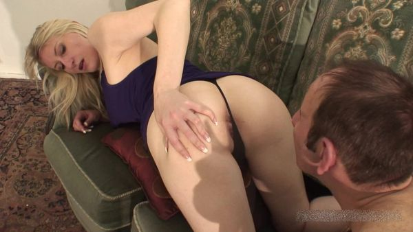 FemdomShed - Mistress Katie Moore - Swallow my farts bitch